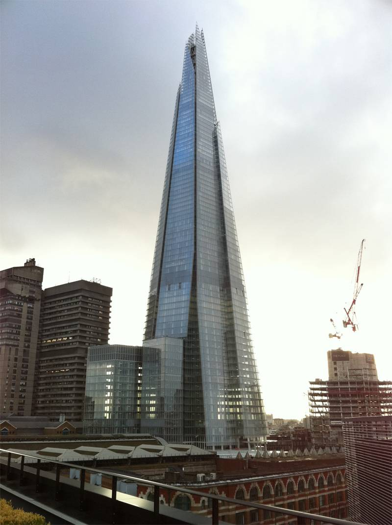 Renzo Piano Designs Shard
