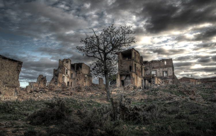 mystifying ghost towns belchite 2