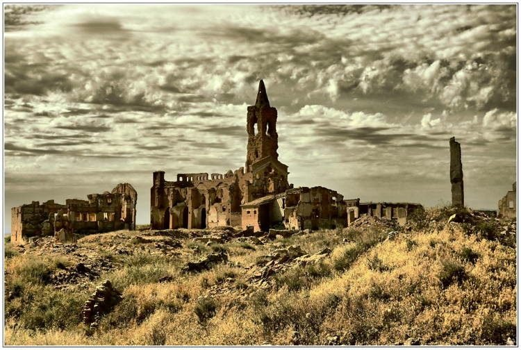 mystifying ghost towns belchite 4