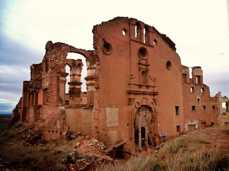 mystifying ghost towns belchite 5