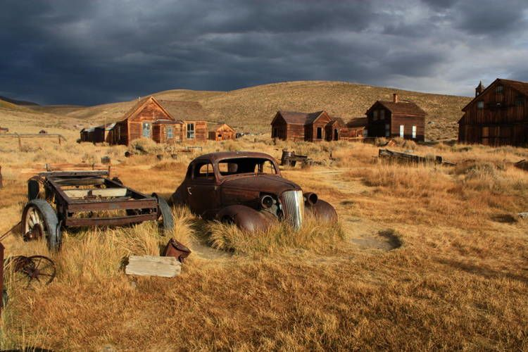 Ghost Towns Bodie California