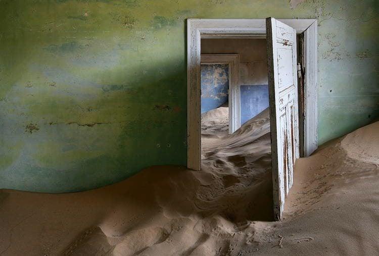 Ghost Towns Kolmanskop Namibia