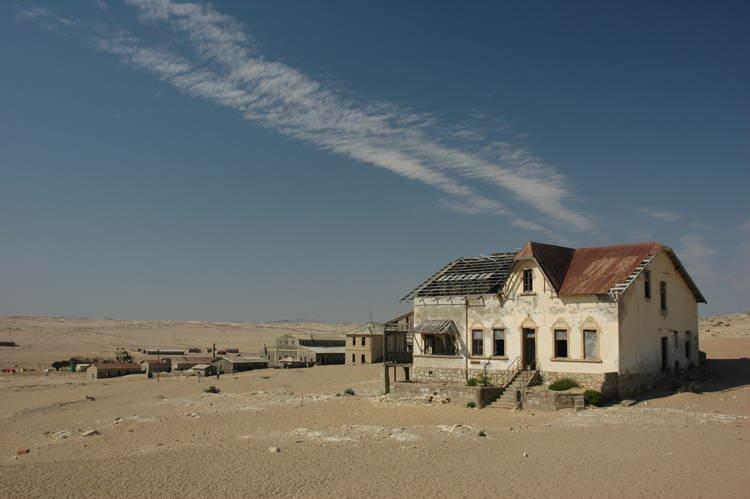 Mystifying Ghost Towns Kolmanskop 5
