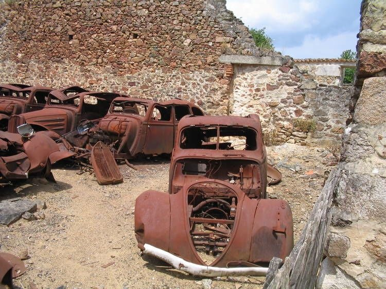 Ghost Towns Oradour Photograph