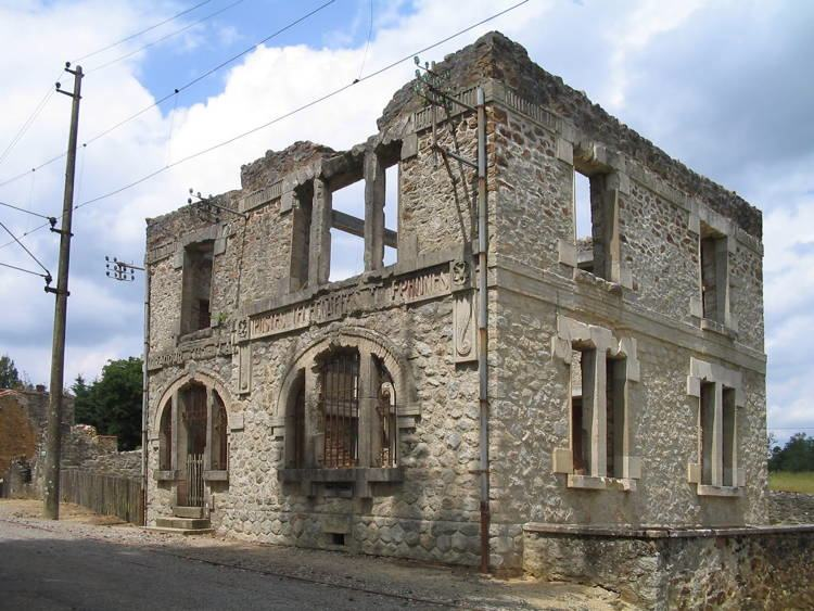 mystifying ghost towns oradour 3