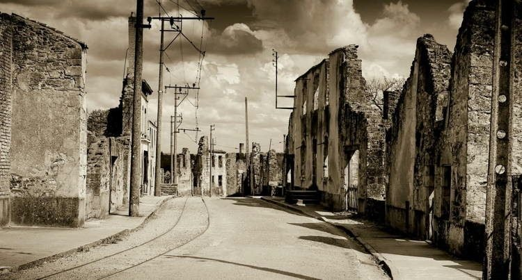 Mystifying Ghost Towns Oradour 5
