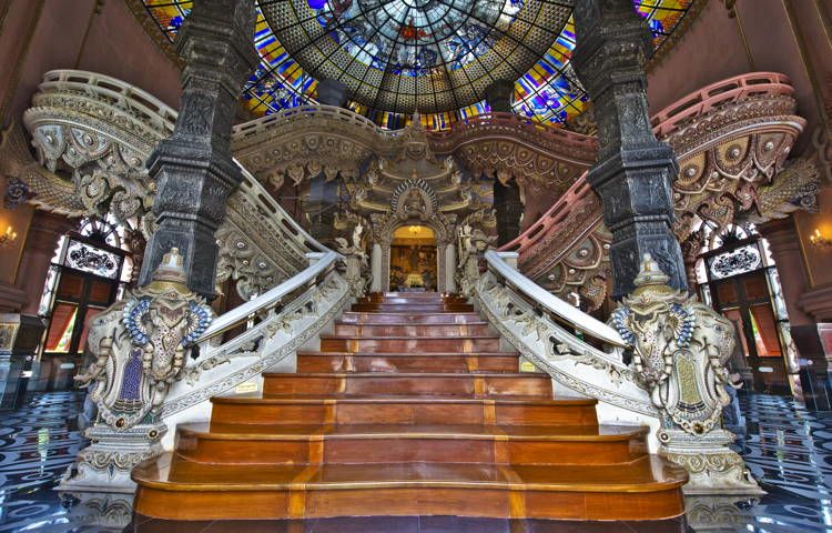Magnificent Stained Glass Erawan 2
