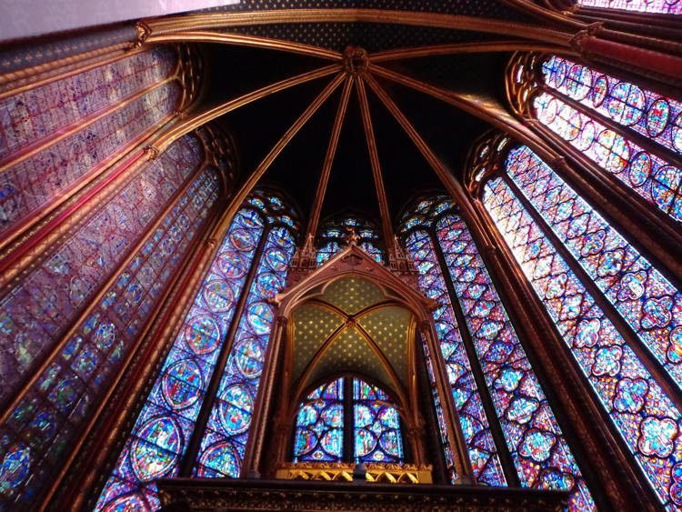 Magnificent Stained Glass Sainte Chapelle 1