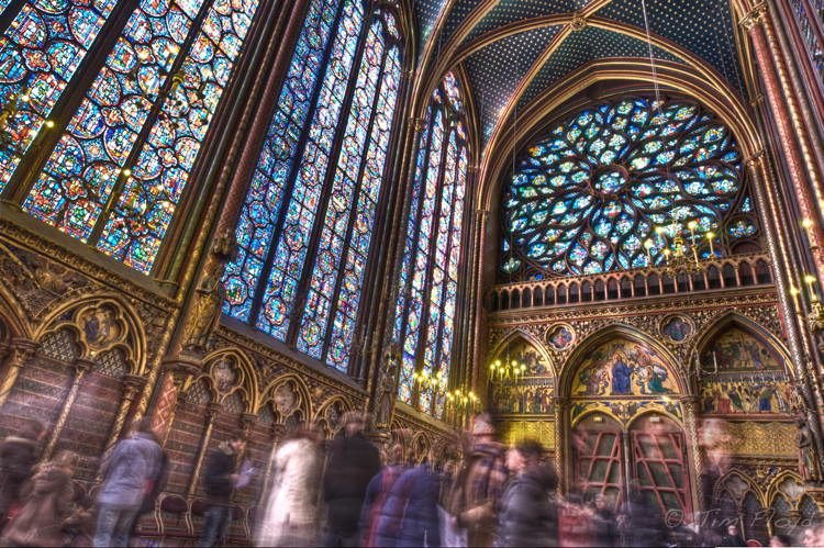 Magnificent Stained Glass Sainte Chapelle 2