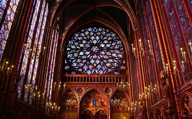 Magnificent Stained Glass Sainte Chapelle 4