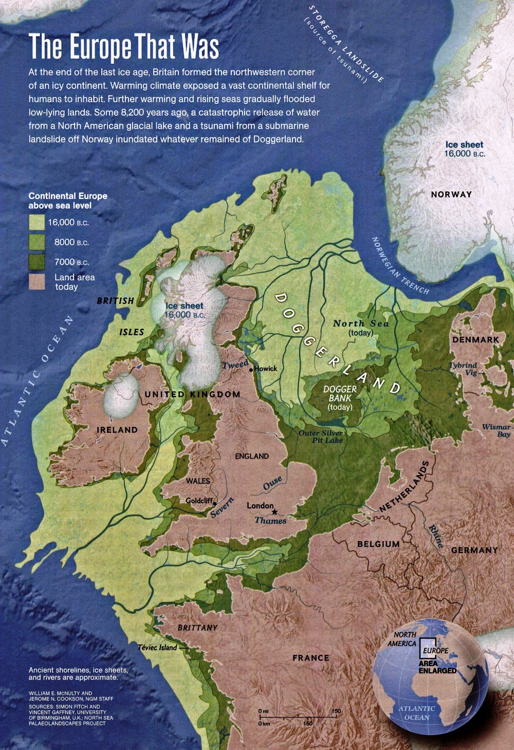 Western Europe In 16000 bc