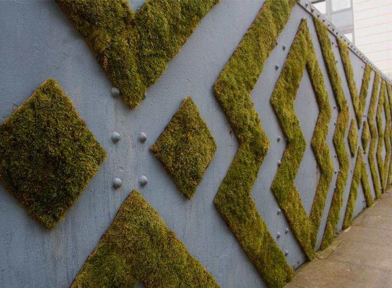 Moss Graffiti Patterns