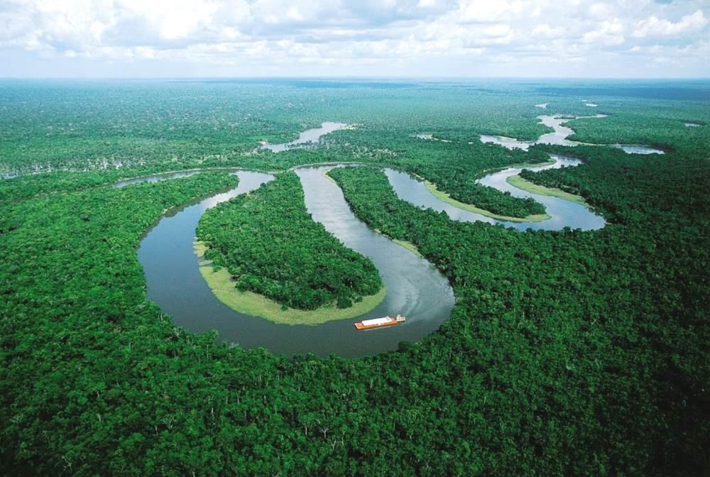 Amazon River Photograph