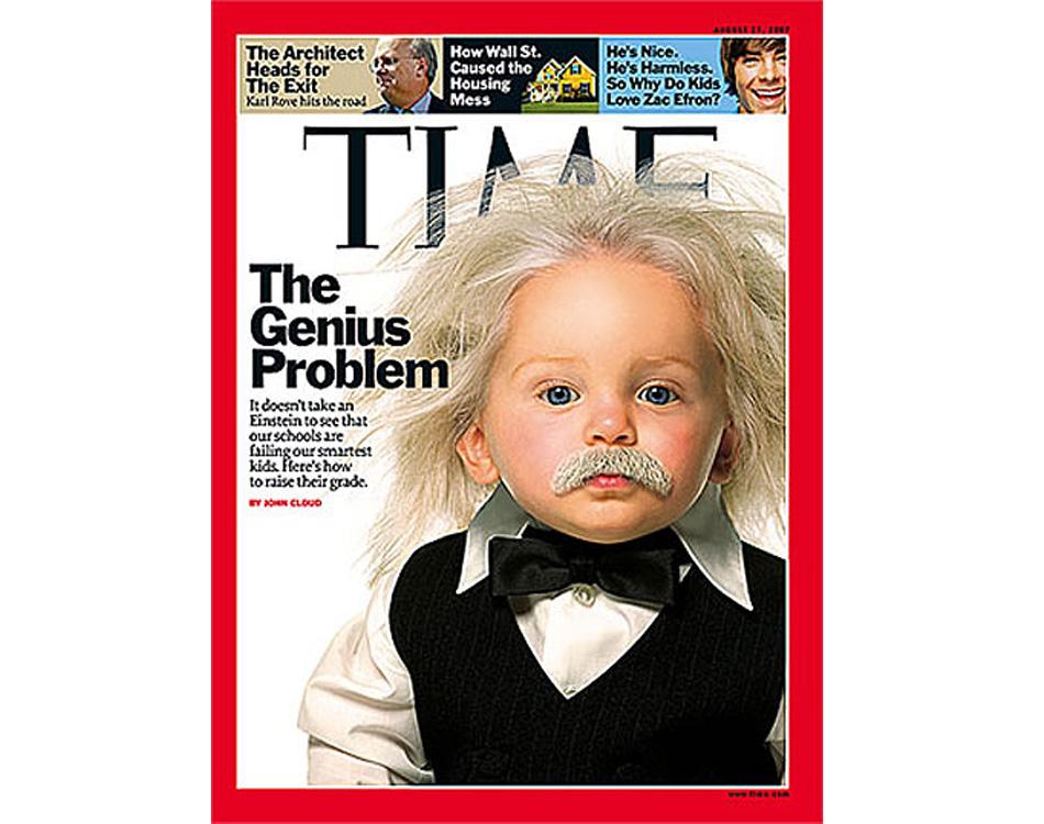 Bizarre Magazine Baby Einstein