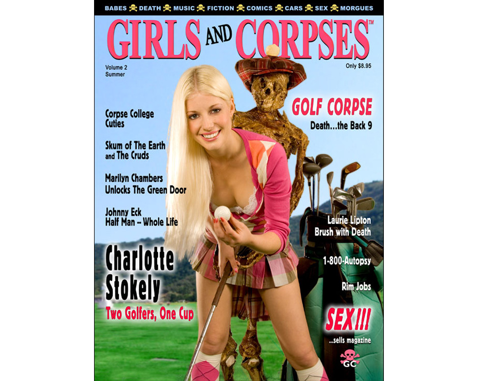 Bizarre Magazine Girl Golfer