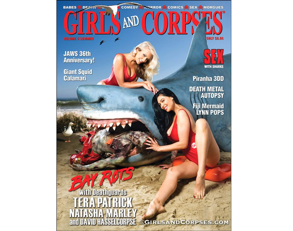 Bizarre Magazine Shark Attack