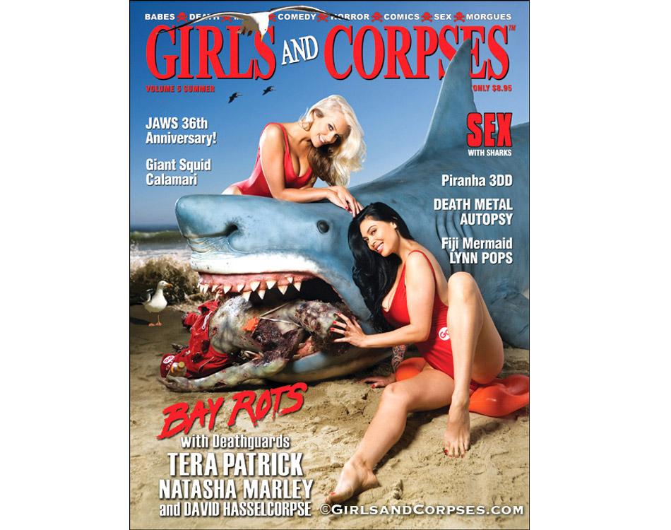 Bizarre Magazine Shark Attack