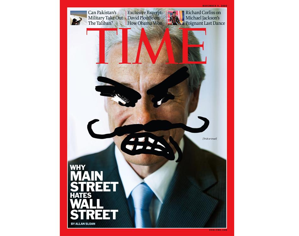 Bizarre Magazine Wall Street