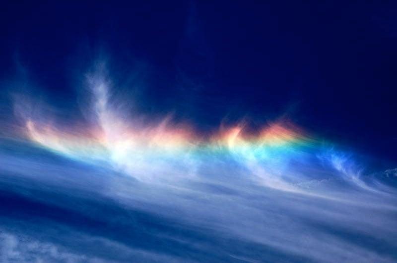 Fire Rainbow Photograph