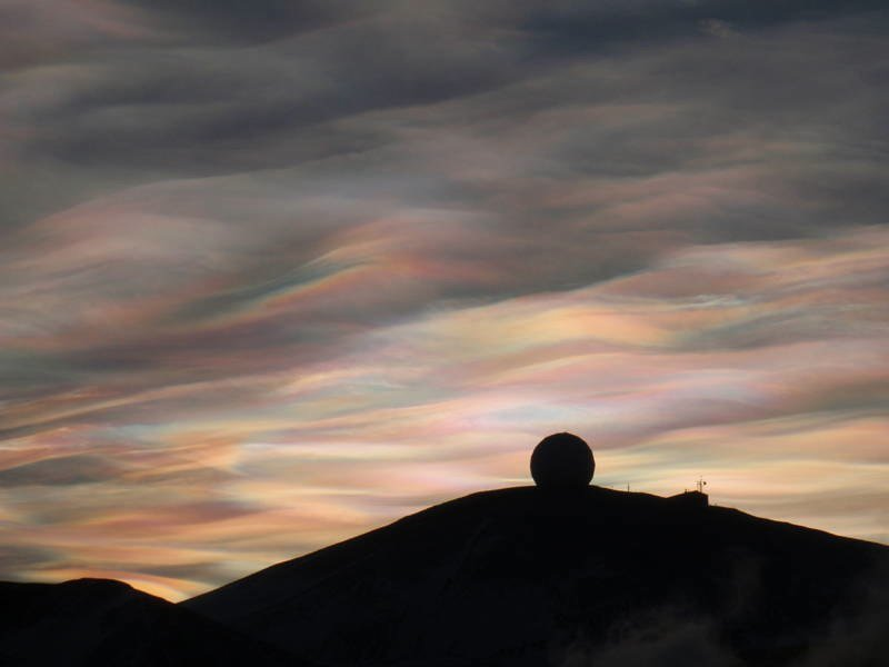 Mind-Blowing Natural Phenomena Nacreous Clouds
