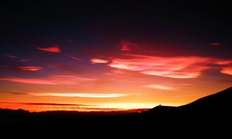 Nacreous Clouds Photograph