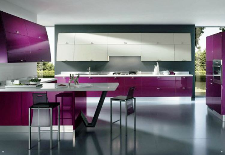 Cool Futuristic Kitchen Design