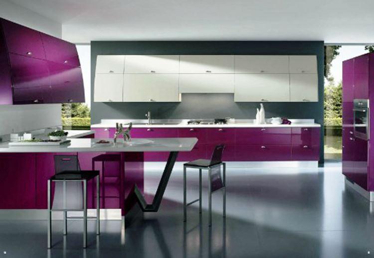 Cool Futuristic Kitchen Design