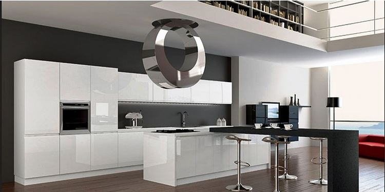 High Quality Futuristic Kitchen Design