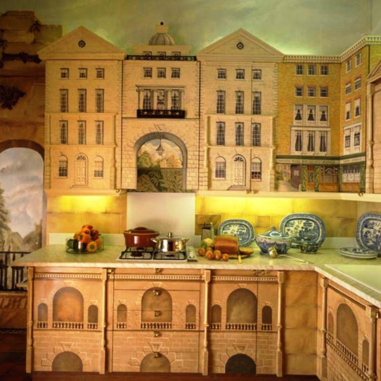 Оригинальная кухня своими руками фото