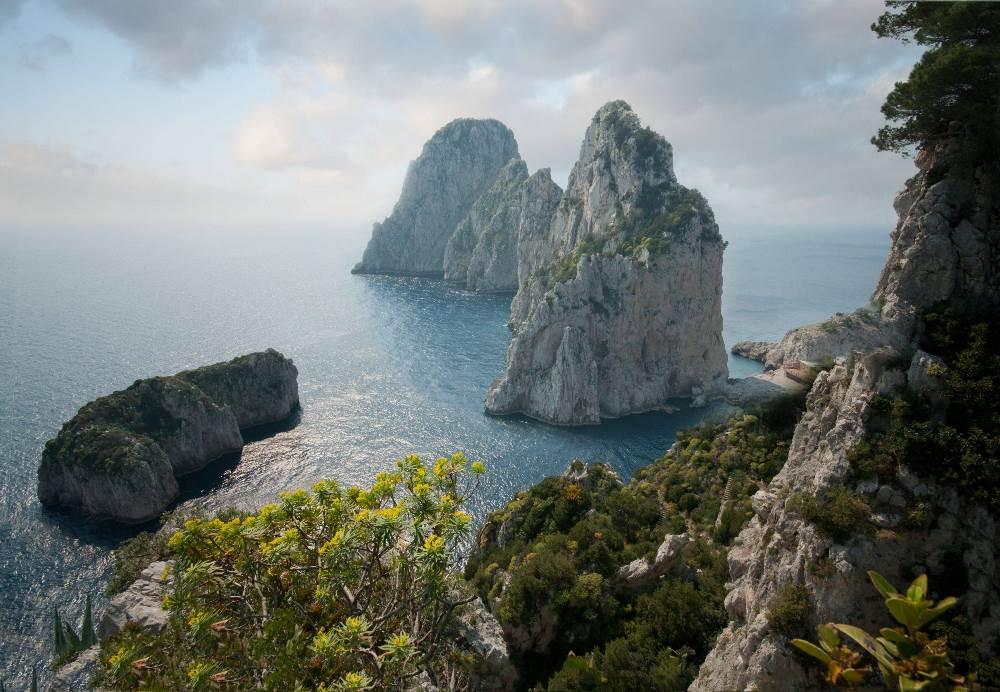 Faraglioni Stones Capri Italy