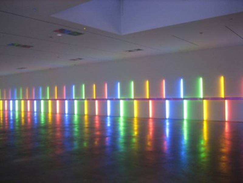 Fascinating Light Art Flavin 2