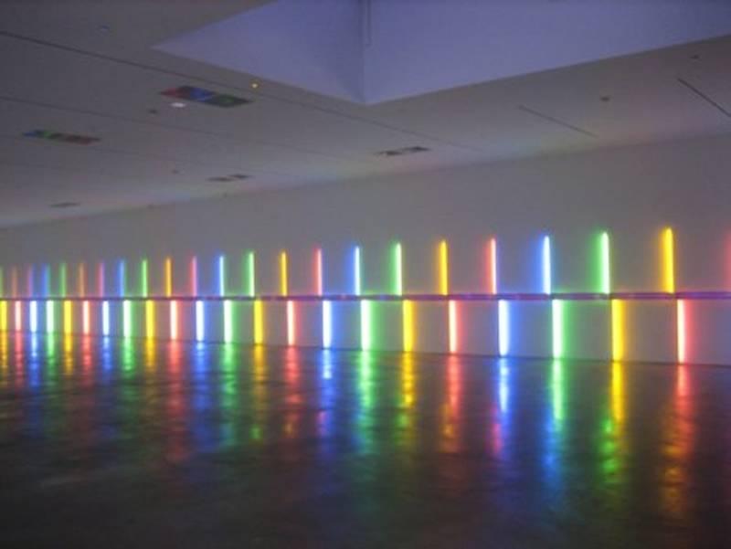 Fascinating Light Art Flavin 2