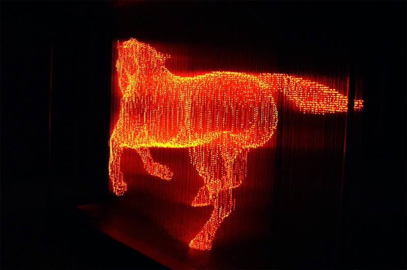 Fascinating Light Art Tojiki 1