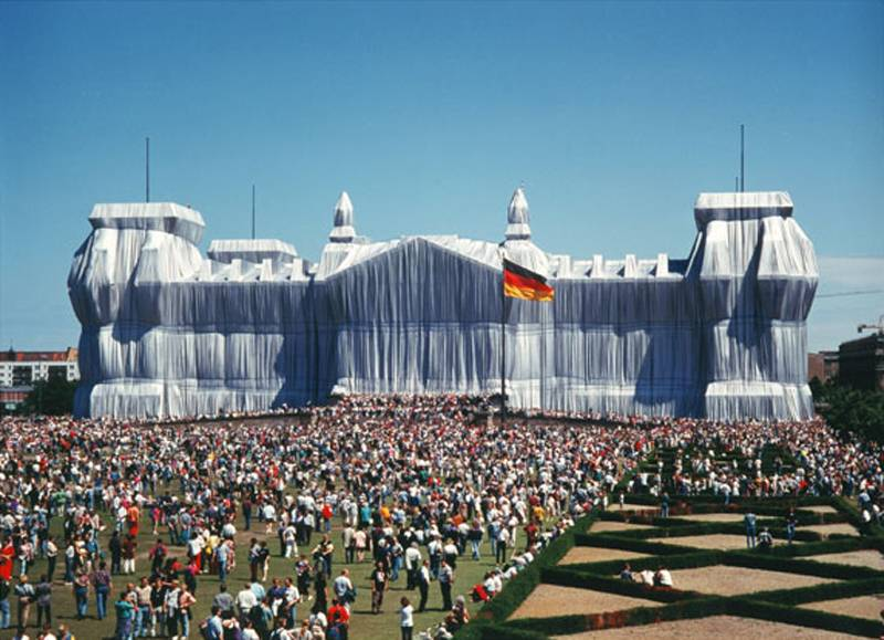 Incredible Christo Works Reichstag