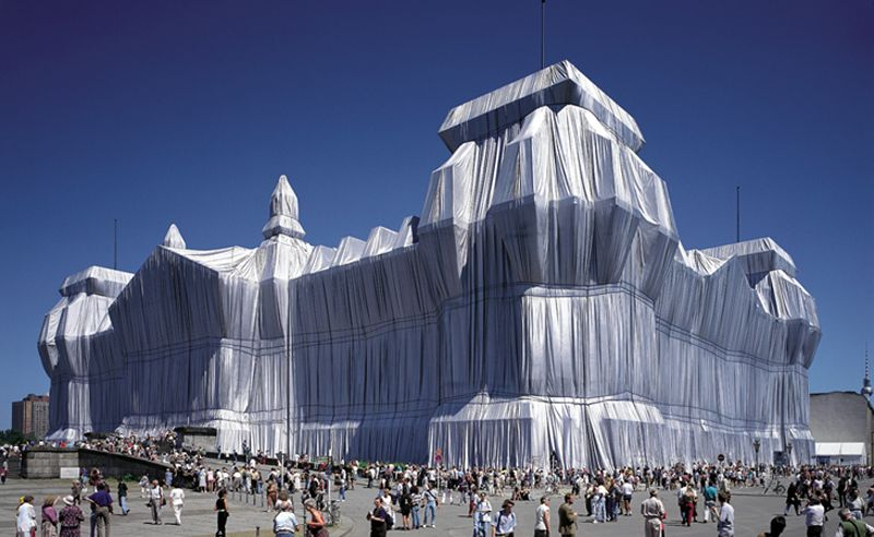 Incredible Christo Works Reichstag 3