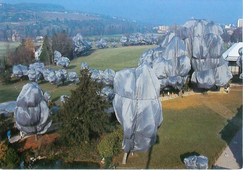 Incredible Christo Works Trees 2