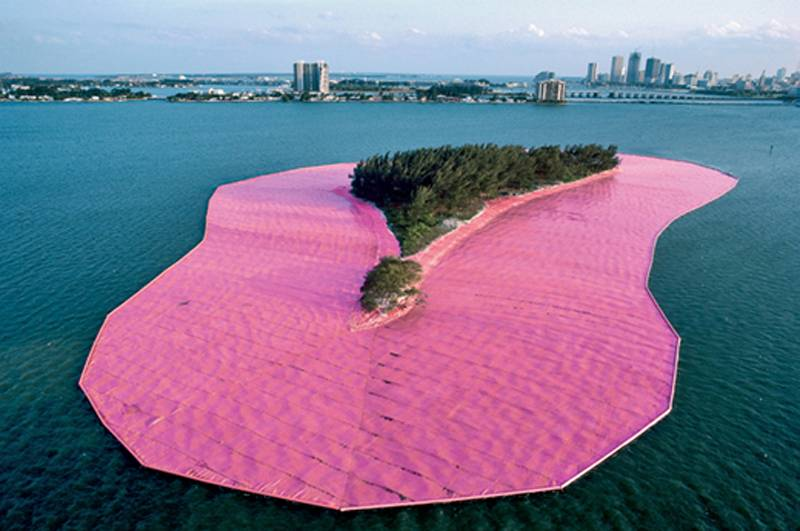 Incredible Christo Works Island 3
