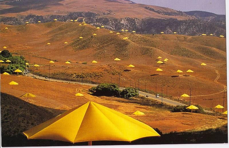 Incredible Christo Works Umbrella