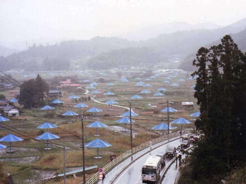 Incredible Christo Works Umbrella 3