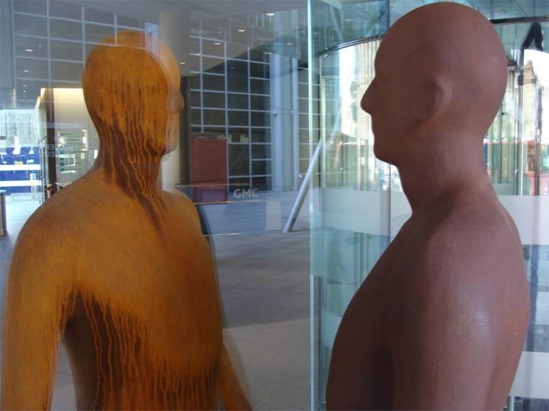 Four Outstanding Sculptors Gormley 5
