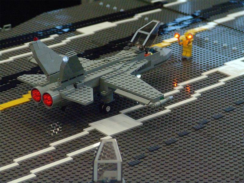 Lego Designs Aircraft Carrier