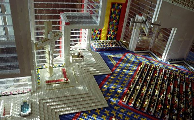 Church Lego Designs