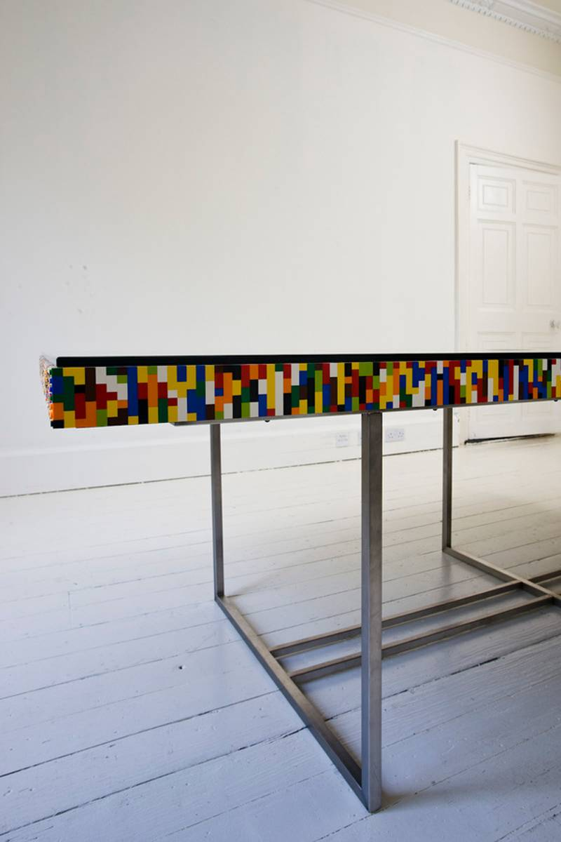 Impressive Lego Designs Table