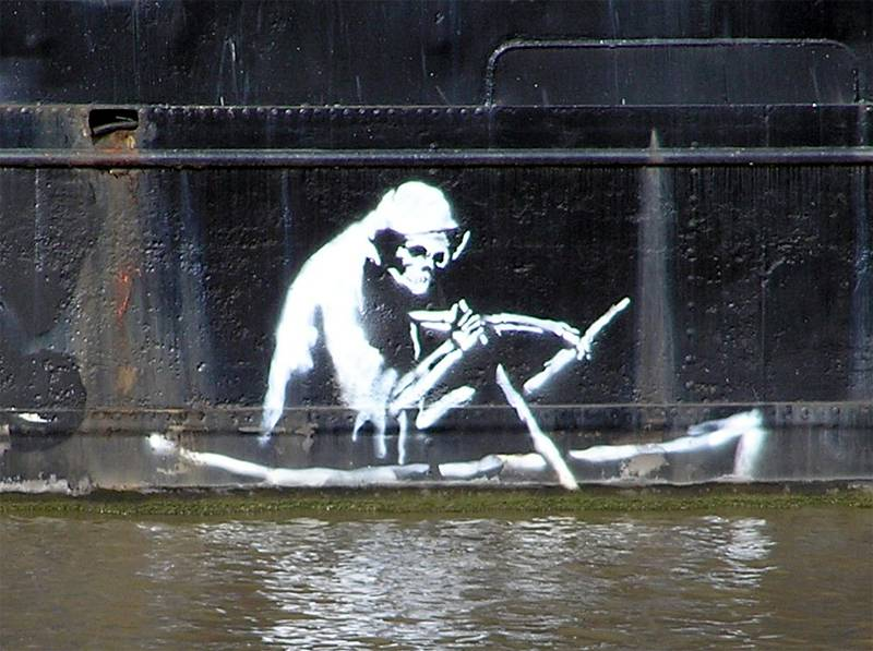 four truly remarkable outdoor artists banksy1 A Taste Of The Worlds Best Graffiti Artists