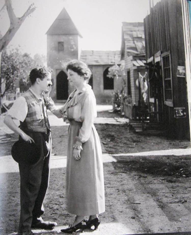 Helen Keller Meets Charlie Chaplin