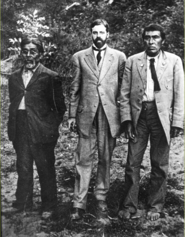 Ishi With Alfred Kroeber And T.T. Waterman