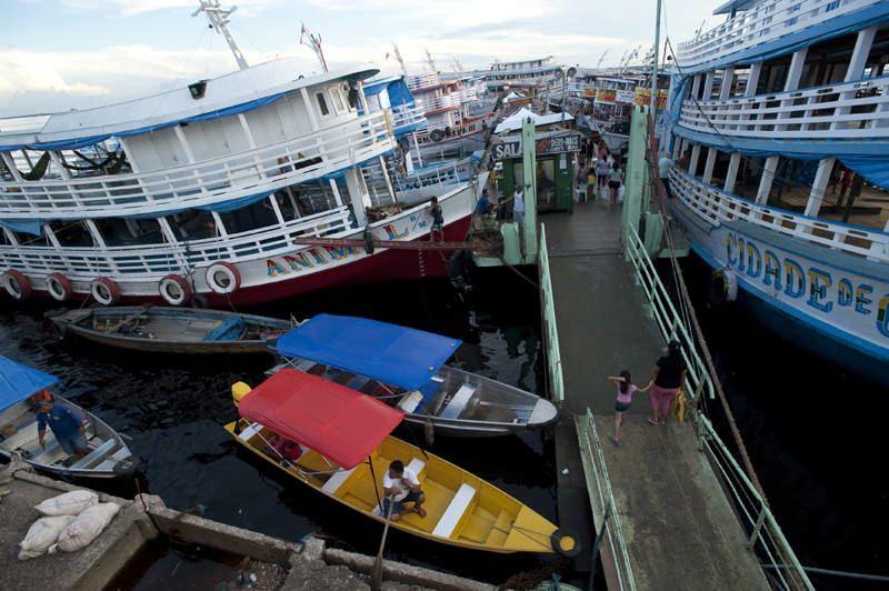 Jungle City Manaus Port