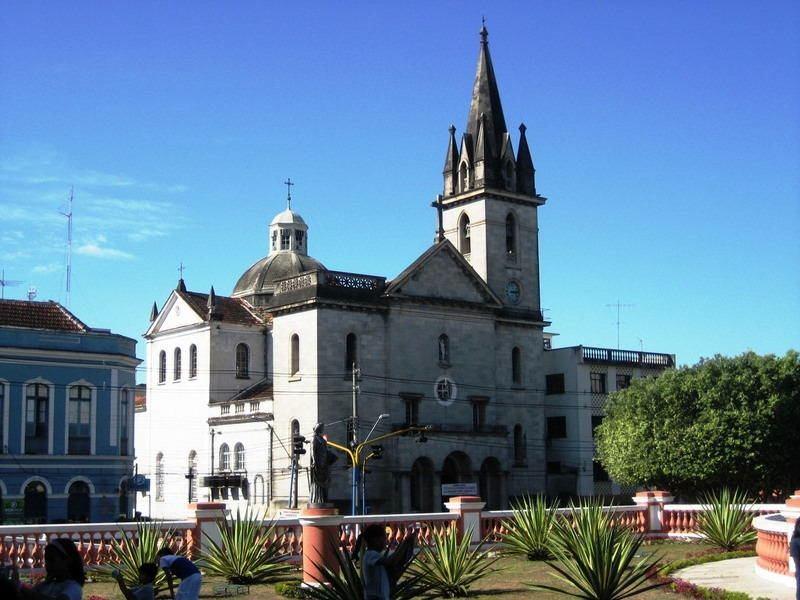 Jungle City Manaus Neoclassical Church