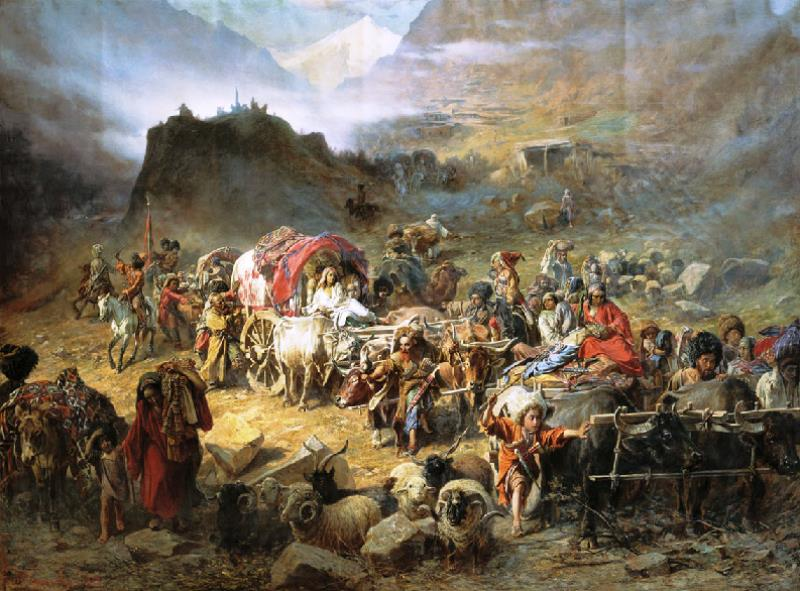 Lesser Known Genocides Circassian March