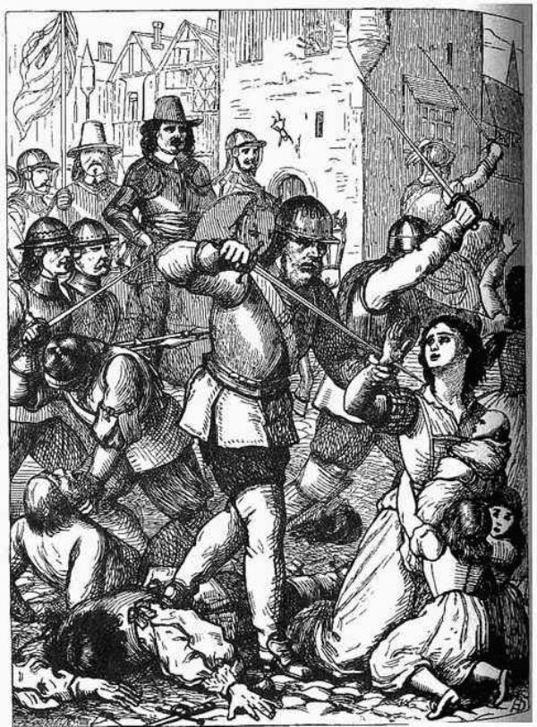 Oliver Cromwell Genocide in Ireland